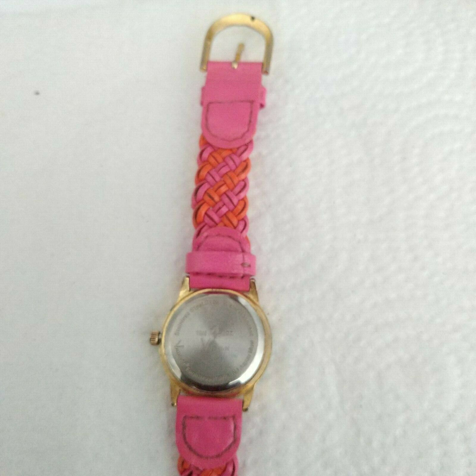 Time4Kidz Watch - Valdawn Vintage Water ressistant  Pink Leather Strap image 6