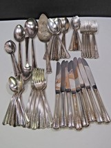 Holmes & Edwards May Queen Silverplate 52 Pieces and Serving  - $74.25