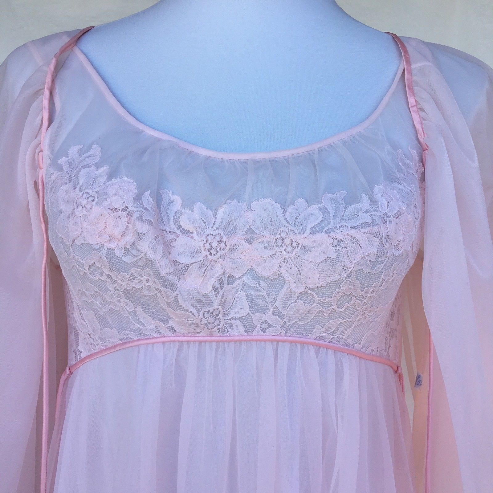 Vintage Vanity Fair Tricot Peignor Nightgown and 50 similar items