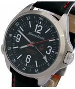 Vostok Komandirskie 470612 K34 Russian Military Mechanical Watch Red Sta... - $158.39
