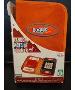 Parker Brothers BOGGLE Game Folio Random Acts Of Summer Family Travel Va... - $14.99