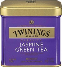 Twinings of London Loose Jasmine Green Tea, 3.53 Ounce Tin