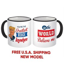 BIKER Gift Funny Trump : Mug Greatest Biker Birthday Christmas Gift Jobs - $13.37+