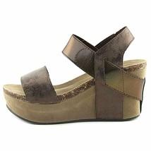 Pierre Dumas Hester-1 Brown Women's Platform Wedge Sandal 22608 - $38.95