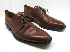 Cole Haan Beckett Mens Brown Leather Split Toe Dress Derbys Size US 12 M - $32.49