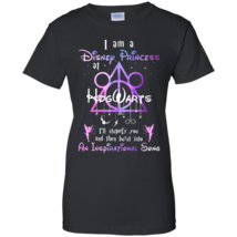 Harry Potter I Am A Disney Princess At Hogwarts Black Ladies' T-Shirt - $22.99+