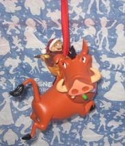 Disney Parks Pumba and Timon. Christmas Ornamen... - $18.69