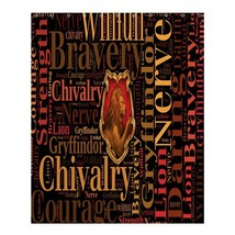 Shower Curtain Harry Potter Godric Gryffindor's Symbol For Game Anime Fa... - $31.00+