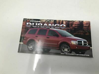 2007 Dodge Durango Owners Manual Case Handbook OEM Z0A115 image 2