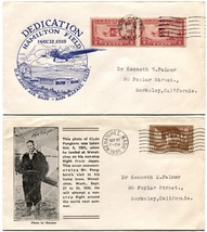 Clyde Pangborn WENATCHEE Hamilton Field DEDICATION San Rafael Air Base C... - $41.40