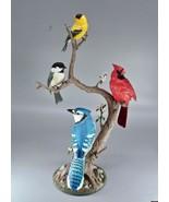 "Danbury Mint Songbirds of Spring Finch Bird Bob Guge 16"" Sculpture Figurine - $155.00"