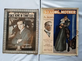 Al. Jolson Vintage Sheet Music 1915 1917 Lot of 2 Songs - $18.59