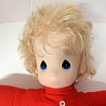 "Precious Moments Doll 16"" Plush Christmas Collector Edition 1991 - $17.08"