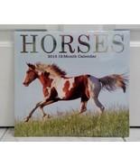 Horses 2015 12 Month Wall Calendar  - $2.96