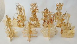 The Danbury Mint Gold Christmas Ornament Collection - 1985 in the Danbury Box - $55.17