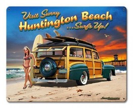 Huntington Beach Surfs Up - $29.95