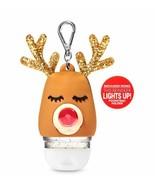 Bath & Body Works Light-Up Reindeer Nose With Clip Pocket *bac  Gel Hold... - $29.99