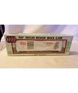 HO Scale Proto 1000 50' High Roof Box Car, Life Magazine 1940s BNOS Ltd.... - $14.85