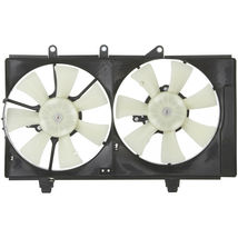 DUAL COOLING FAN ASSEMBLY CH3115130 FOR 01 02 03 DODGE PLYMOUTH NEON image 5
