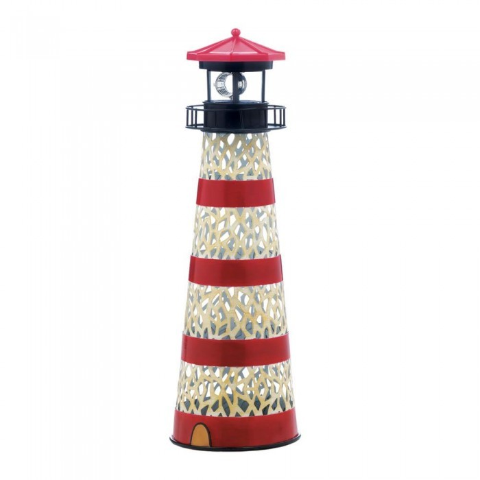 Solar Powered Lighthouses Available in 4 Designs