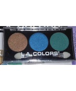 L.A. Colors 3 Color Eyeshadow Palette ~~LOTUS CBES621~~ New/Sealed 0.19... - $3.96