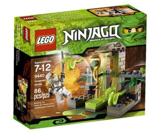 LEGO 9440 NINJAGO Venomari Shrine Set Zane ZX [NEW] Building Toy