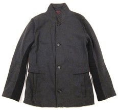 Mens Lululemon Post Gravity Blazer Sweatshirt Jacket in Heathered Black ... - $97.02
