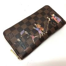 AUTHENTIC LOUIS VUITTON Damier Zippy Wallet Illustre Zip Around Wallet N... - $660.00