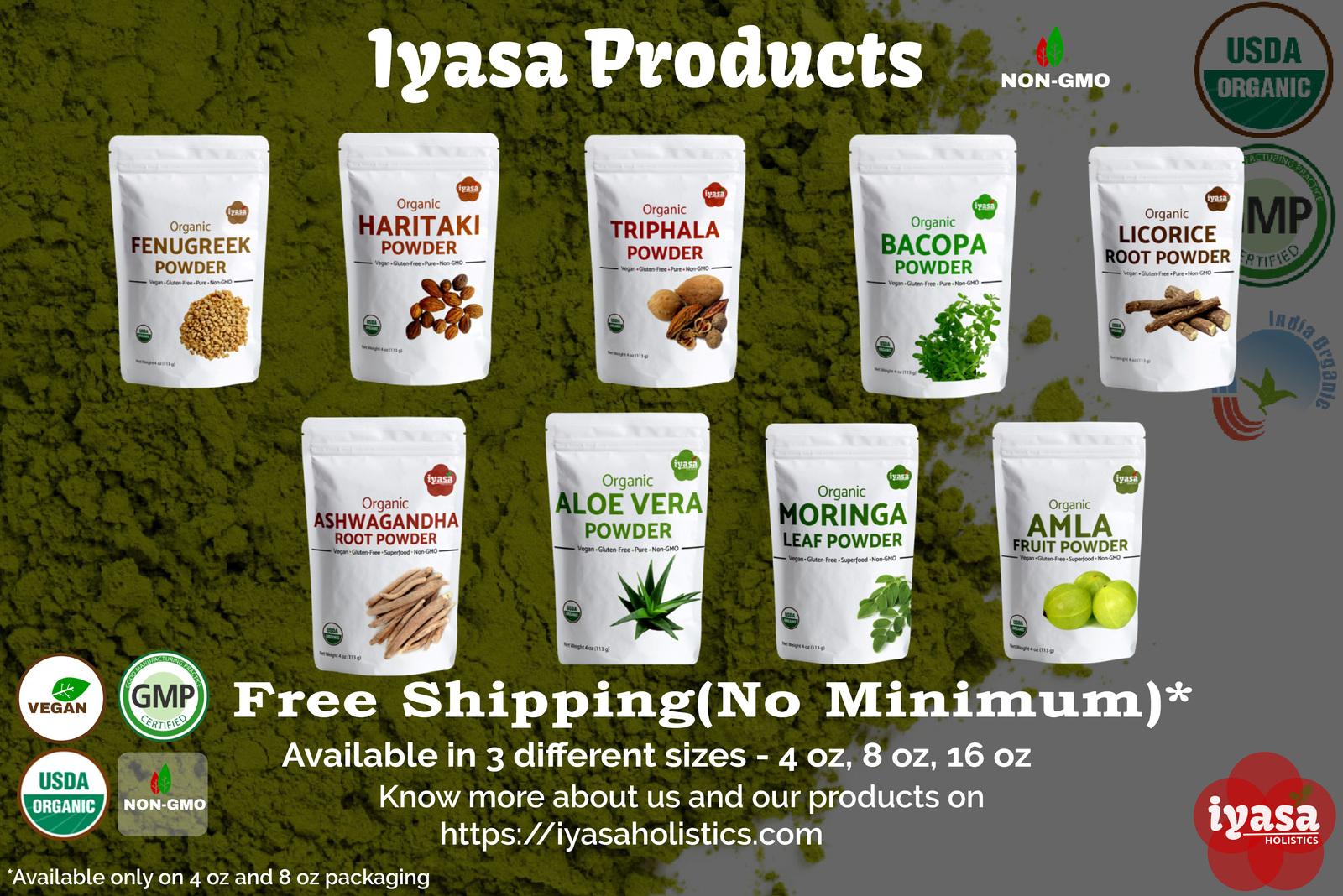 Organic Amla Fruit Powder,Amalaki Berry,Indian Gooseberry,Premium Quality,4,8 oz image 6