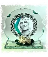 Pixie Lott Cut Glass Round Plaque Unique Ltd Edition Memorabilia #1 - $32.07