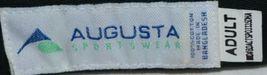 Augusta Sportswear Adult Adjustable Black Sport Twill Visor 6225 image 6