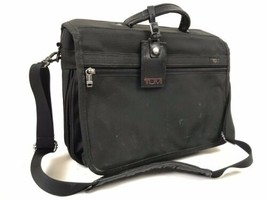 "Tumi Alpha Nylon Laptop Briefcase 16""x12"" Shoulder Messenger Bag c - $59.00"