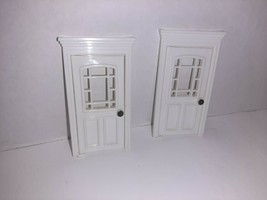 Precious Places Magic Key Mansion REPLACEMENT House Outside Doors x2 - $14.85