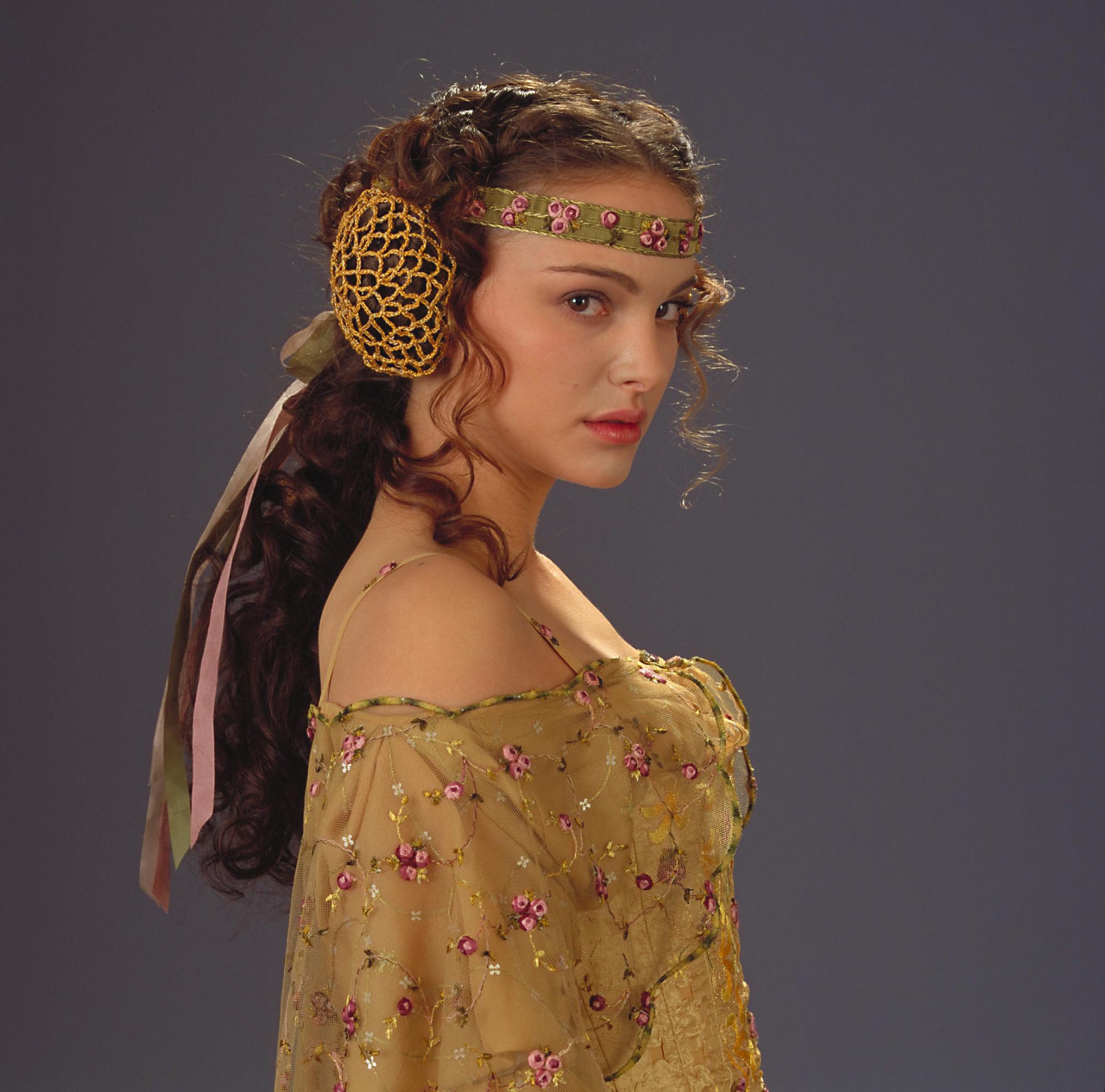 Star Wars 2 Revenge Padme Amidala Of The Sith Cosplaya Costume outfit