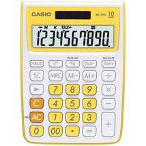 CASIO(R) MS-10VC-YW 10-Digit Calculator (Yellow) - $28.76