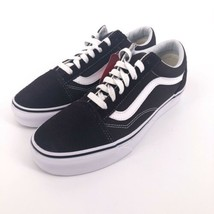 VANS Old Skool Chocolate Torte True White Canvas Suede shoes Womens Size... - $52.99
