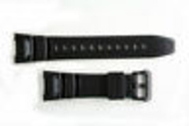 Genuine Casio Rubber Black Digital Compass Twin Sensor Watch Band Strap ... - $21.55
