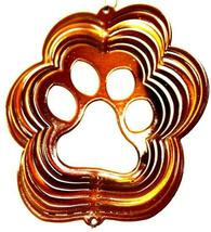 3 in stainless steel copper paw USA 3D hanging garden yard wind spinner spinners - $9.00