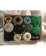 Vintage Crochet Darning Thread Lot - $9.49