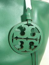 NWT Tory Burch Malachite Green Miller Bucket Tote image 7