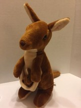 "16"" Kangaroo Unipak With Baby Joey Plush Stuffed Animal - $8.59"