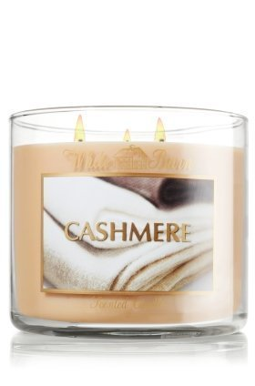 Bath & Body Works White Barn CASHMERE Scented Candle 14.5 oz / 411 g