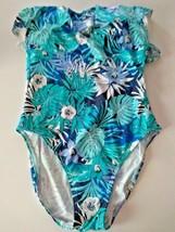 Tommy Hilfiger Floral One Piece Swim Suit Size 12 image 1