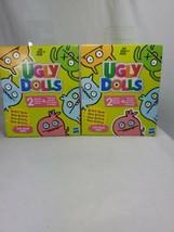 LOT OF 2 Ugly Dolls Artist Series 2 Surprises Plush mini doll NEW 4+ - $16.99