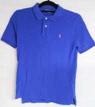 POLO By Raph Lauren youth boys polo shirt short sleeve blue size M 10-12 - $12.66