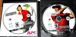 EA SPORTS TIGER WOODS PGA TOUR 08 & 10 ORIGINAL BLACK LABEL PS3 GAME DIS... - $8.99