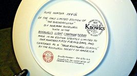 """1984 """"The Birthday Wish"""" by Norman Rockwell Plate with Box ( Knowles ) AA20-CP21 image 4"""