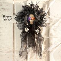 Lighted Color Changing Skeleton Wreath - $17.05