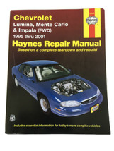Chevrolet Lumina Monte Carlo Impala 1995-2001 Haynes Repair Manual 24048 - $15.75