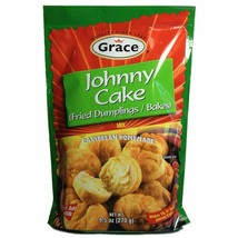 Grace Johnny Cake Fried Dumplings Mix 9.5 Oz X 3 - $30.06